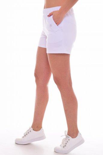 Шорты женские (ц) (Белый) (Фото 2)