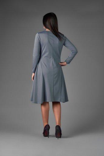 "Платье П 510 ""Ж"" (Серый) (Фото 2)"