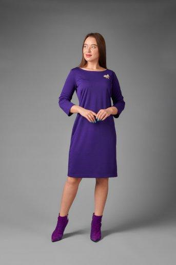 """Платье П 743/1 """"Ж"""" (Фиолетовый) - Дамит"""