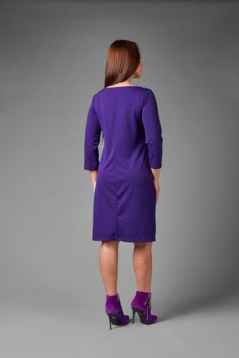 """Платье П 743/1 """"Ж"""" (Фиолетовый) (Фото 2)"""