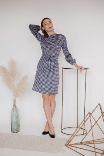 """Платье П 758/1 """"Ж"""" (Лапки на сиреневом) - Дамит"""
