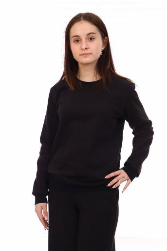 Свитшот №105 (Чёрный) - Дамит