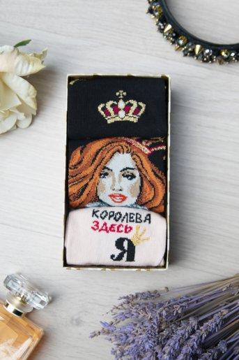 """Носки Княгиня женские """"Н"""" (3 пары) (Фото 2)"""