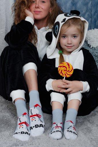"""Носки Сугроб детские полуплюш """"Н"""" (3 пары) - Дамит"""