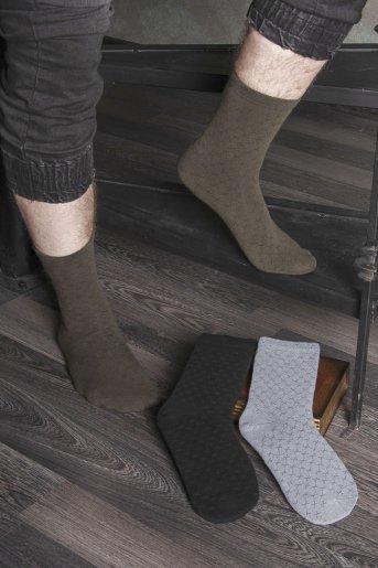 """Носки Крестики детские """"Н"""" (3 пары) - Дамит"""