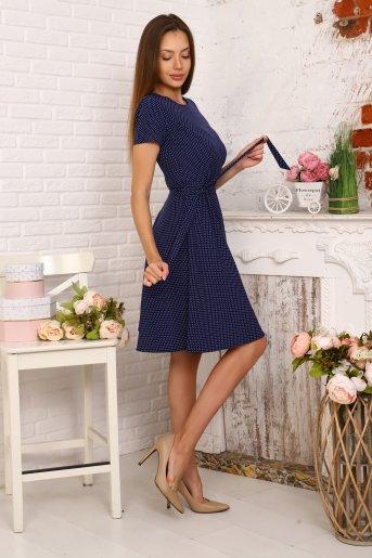 "Платье 20614 ""Н"" (Синий) (Фото 2)"