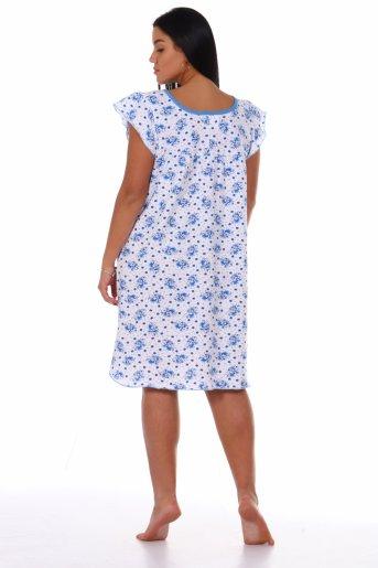 Сорочка Настя (Голубой) (Фото 2)