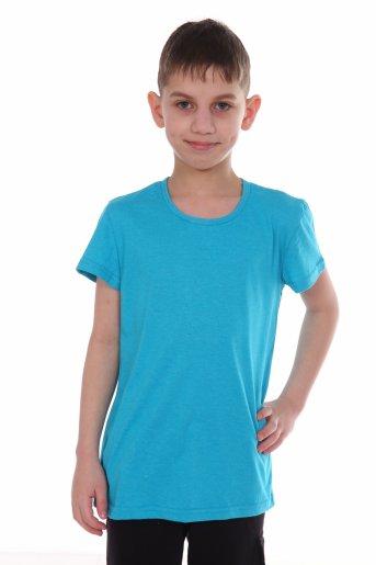 Футболка для мальчика (Голубой) - Дамит