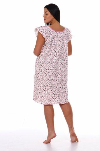 Сорочка Настя (Розовый) (Фото 2)