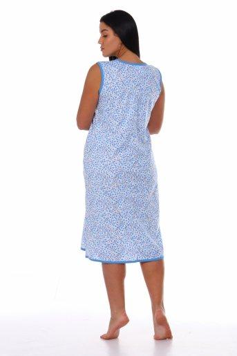 Сорочка Даша (Голубой) (Фото 2)