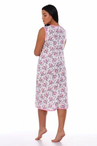 Сорочка Даша (Розовый) (Фото 2)