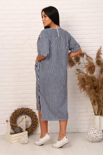 """Платье 12316 """"Н"""" (Полоса) (Фото 2)"""