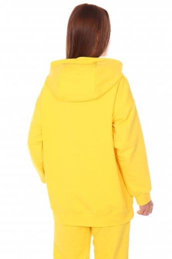 Худи №107 (Жёлтый) (Фото 2)