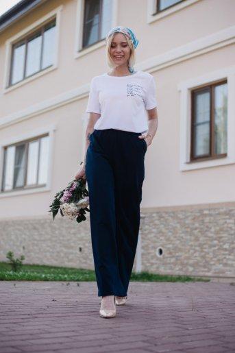 "Брюки Ш 108 ""Ж"" (Синий) - Дамит"