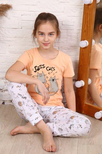"Пижама 15150 ""Н"" (Персик) - Дамит"