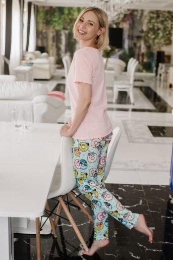"""Женская пижама ЖП 067 """"Ж"""" (Девушка с пончиками) (Фото 2)"""