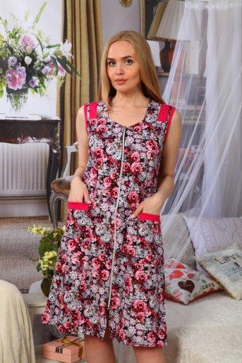 Халат Настя (Розовый) - Дамит