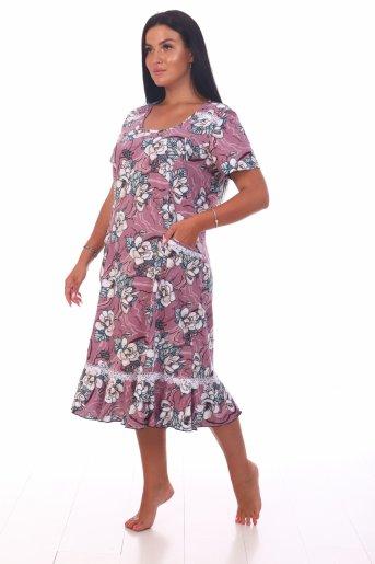 Платье Аня (Сухая роза) (Фото 2)
