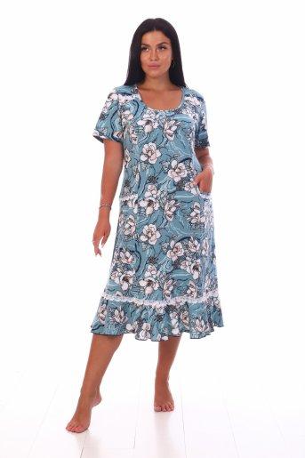 Платье Аня (Олива) - Дамит
