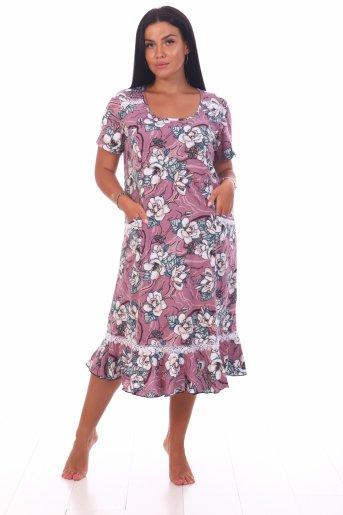 Платье Аня (Сухая роза) - Дамит
