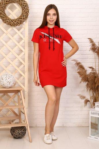 """Платье 12866 """"Н"""" (Красный) - Дамит"""