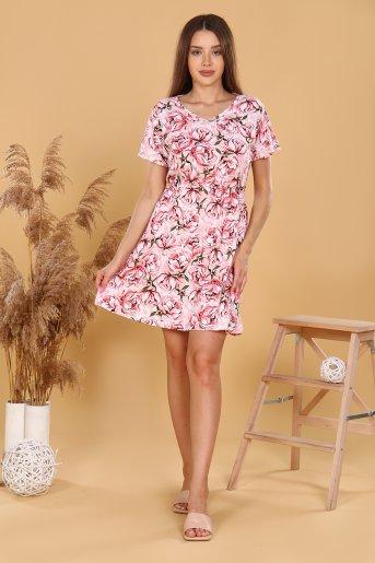 """Платье 11590 """"Н"""" (Розовый) - Дамит"""