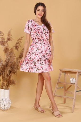 """Платье 11590 """"Н"""" (Розовый) (Фото 2)"""