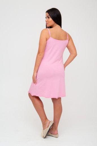 """1495 Ночная сорочка """"А"""" (Розовый) (Фото 2)"""