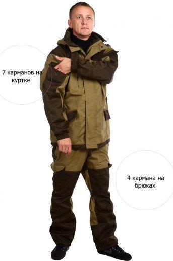 """Костюм Шторм на флисе дмс (палатка) """"ВТ"""" (Фото 2)"""