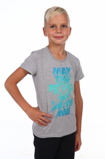 футболка Моя сила М (Серый) - Дамит