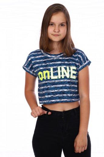 Футболка Онлайн (Желтый) - Дамит