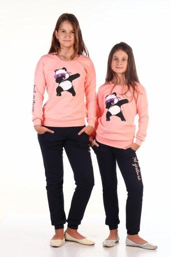 Костюм №3 Deb Панда (Розовый) - Дамит