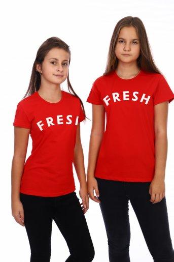 Футболка FRESH (Красный) - Дамит