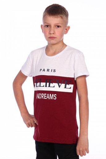 Футболка №103. (Бордо) - Дамит
