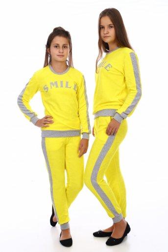 Костюм SMILE (дл. брюки) (Желтый) - Дамит