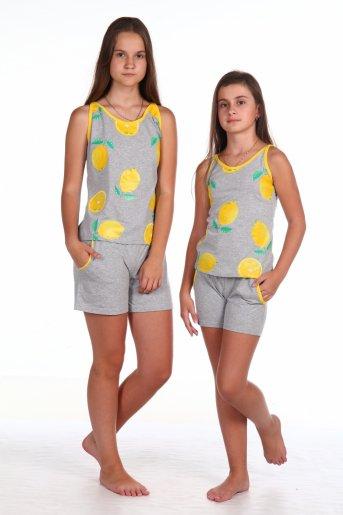 Костюм №1 Лимоны (Серый) - Дамит