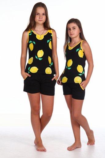 Костюм №1 Лимоны (Черный) - Дамит