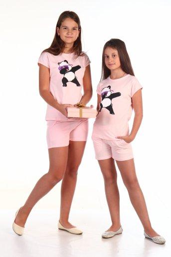 Костюм №1 Deb Панда (Розовый) - Дамит