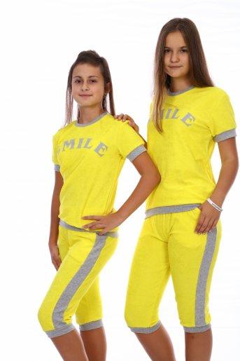 Костюм SMILE (бриджи) (Желтый) - Дамит