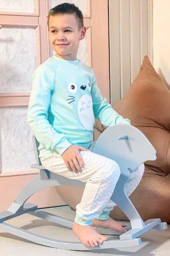 """Пижама Моана детская """"Н"""" (Ментол) (Фото 2)"""