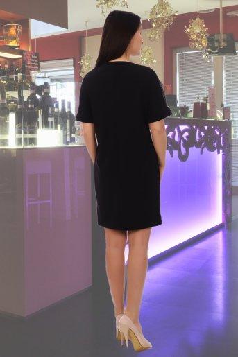 """Платье 4623 """"Н"""" (Черный) (Фото 2)"""