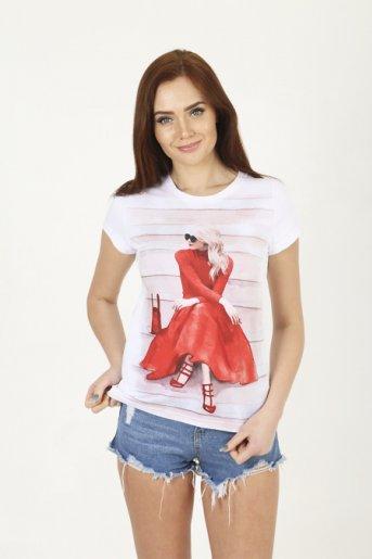 """Женская футболка 1184 """"Б"""" - Дамит"""