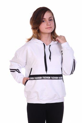 Худи №154 (Белый) - Дамит