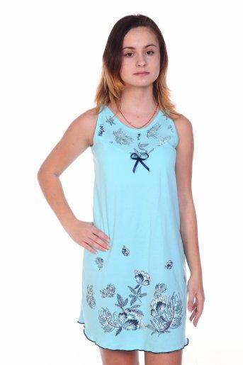 Сорочка №43 (Голубой) - Дамит