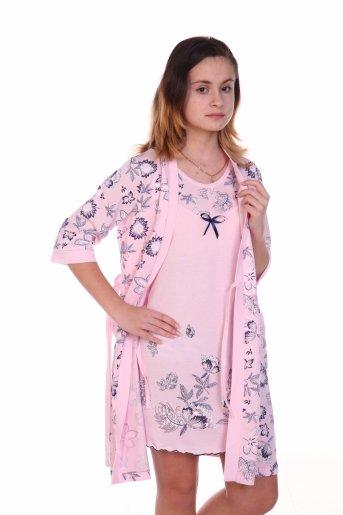 Комплект №385 (Розовый) - Дамит