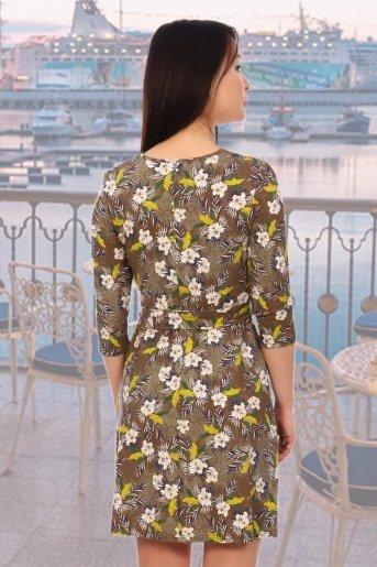 "Платье 5577 ""Н"" (Хаки) (Фото 2)"
