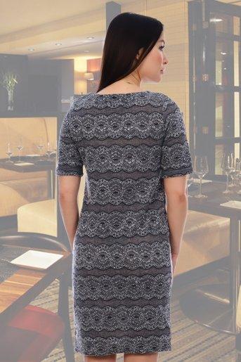 Платье 10323 (ц) (Серый) (Фото 2)