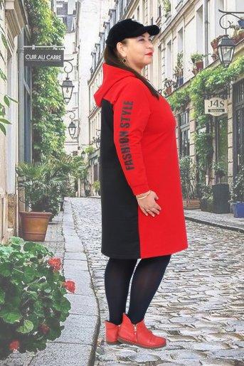 """Платье Тоскана """"Н"""" (Красный) (Фото 2)"""