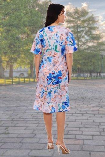 "Платье 10335 ""Н"" (Василек) (Фото 2)"