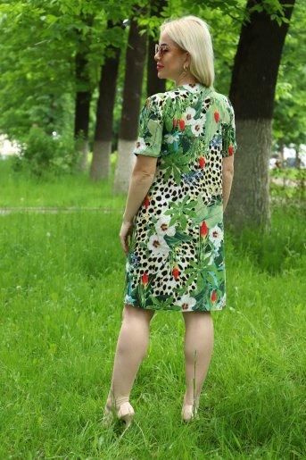 """Платье 10337 """"Н"""" (Зеленый) (Фото 2)"""